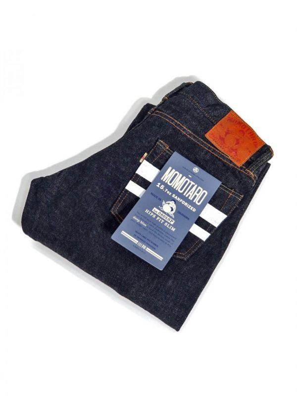 【MOMOTARO JEANS / 桃太郎ジーンズ】DEPARTURE HIPS FIT STRAIGHT / 出陣 ヒップス フィット ストレート