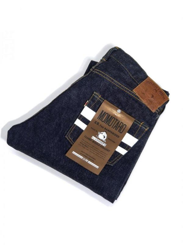 【MOMOTARO JEANS / 桃太郎 ジーンズ】 DEPARTURE MIDDLE STRAIGHT / 出陣 ミドル ストレート