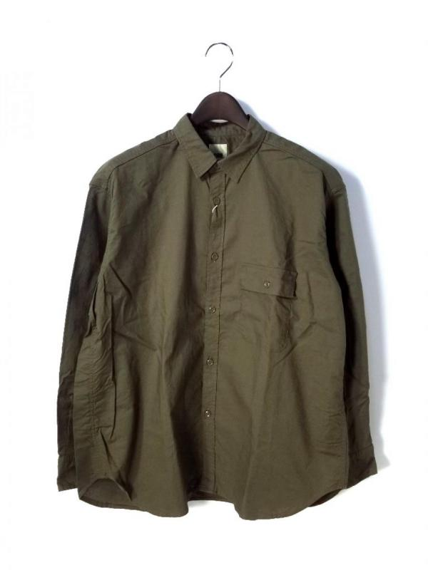 【FOB FACTORY】MILITARY OVERSIZED SHIRT