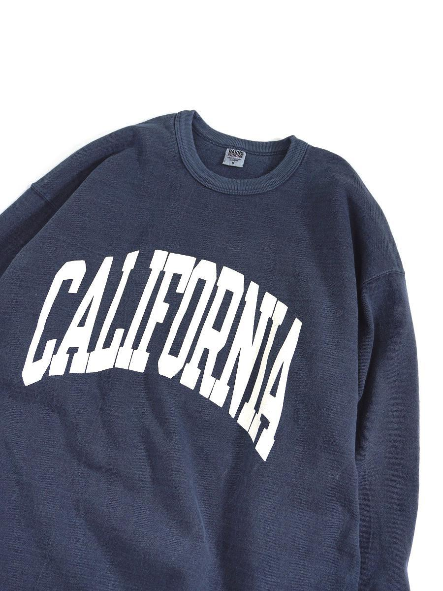 【BARNS OUTFITTERS / バーンズ アウトフィッターズ】90's BIG 9SLEEVE PRINT TEE / 90's ビッグ 9スリーブ プリント TEE